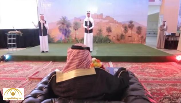 """بالفيديو: """"شيلة"""" توقع """"تعليم الباحة"""" في حرج مع وزارتهم .. والمتحدث يعلّق !"""