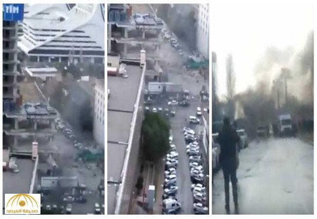 """بالفيديو:تفجير في مدينة إزمير بتركيا.. والشرطة تقتل """"إرهابيين اثنين"""""""