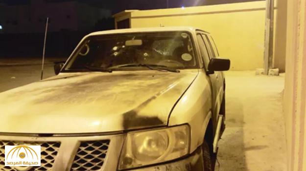6 رصاصات تخترق مركبة رئيس «تعديات الأفلاج»