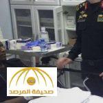 شاهد أول صورة لرجل الأمن الذي تصدى للإرهابيين ومنعهم من الاستيلاء على الدورية الأمنية!