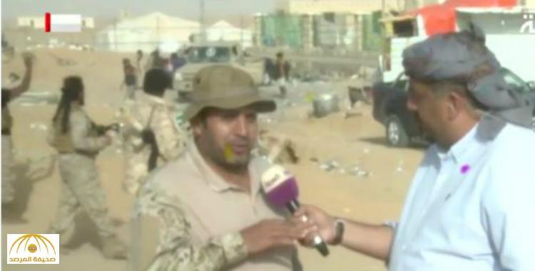 """شاهد .. أول فيديو من داخل """"صعدة"""" بعد تقدم القوات اليمنية .. هذه مخلفات الانقلابين بالمحافظة !"""