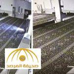 شاهد .. كاميرا مراقبة تفضح عملية سرقة شاشة من مسجد بحي العزيزية
