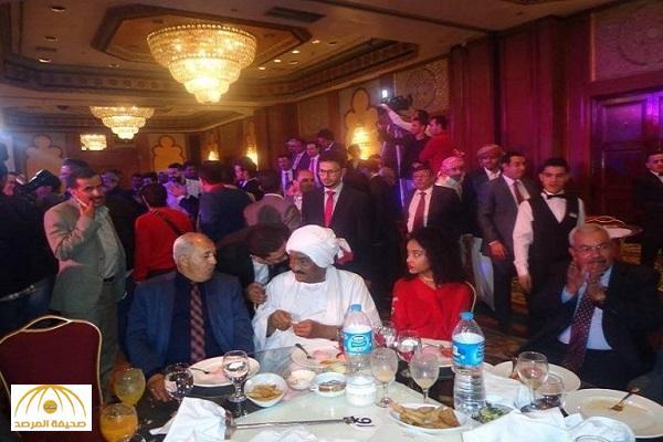 """كيف علق المخلافي على """"شائعات""""إنفاقه  120 مليون ريال في حفل زفاف نجله بالقاهرة ؟ – صور"""