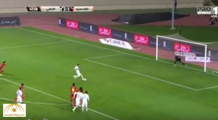بالفيديو : الأهلي يسحق القادسية بثلاثة أهداف مقابل هدف