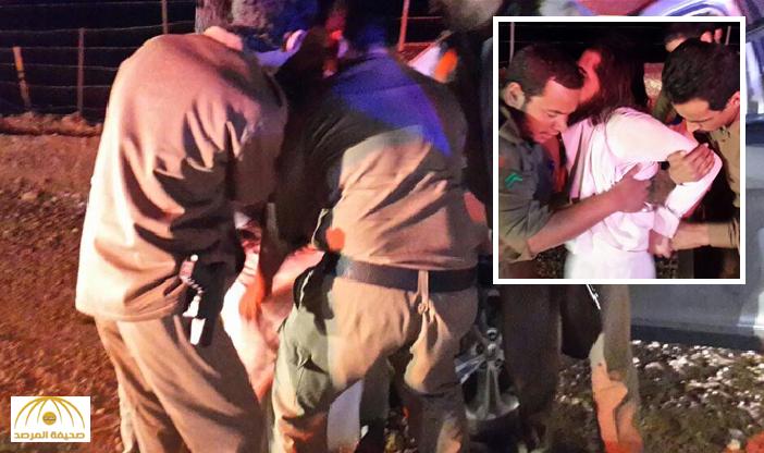 """بالفيديو والصور .. لحظة القبض على """" سائق  هارب """" من قبل الجهات الأمنية بالرياض !"""