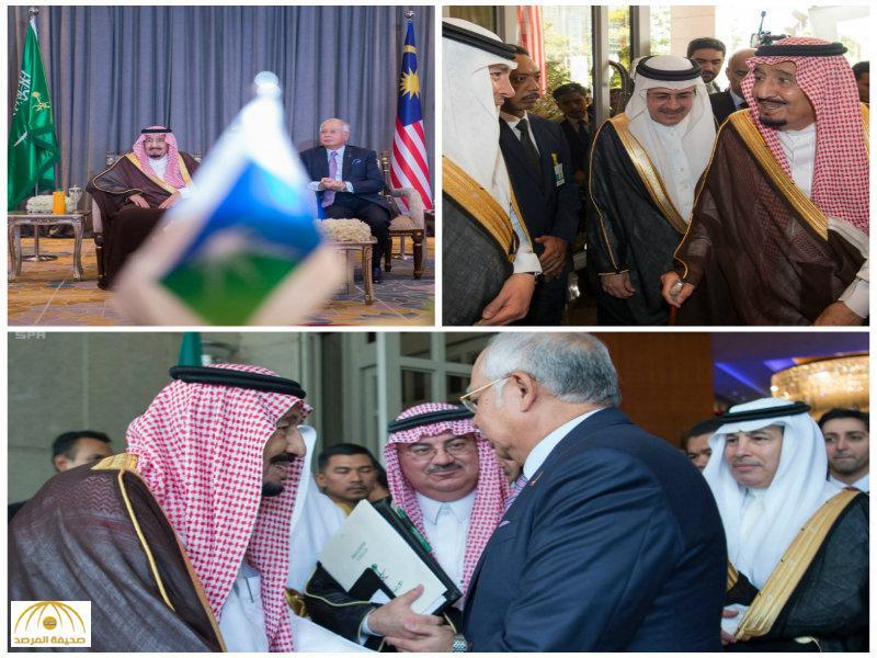 """بحضور خادم الحرمين.. توقيع اتفاقية بين""""أرامكو""""و""""بتروناس"""" بمليارات الدولارات -صور"""