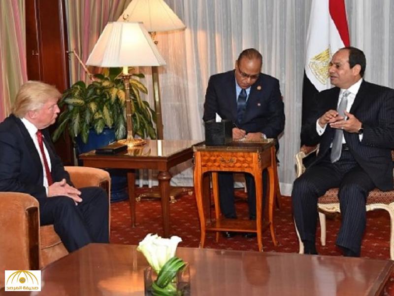 تفاصيل أخطر تقرير سري عن مصر على مكتب ترامب