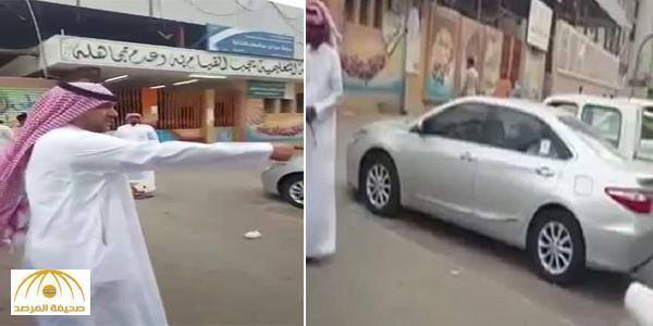 بالفيديو:معلم بمكة يتهم الدوريات السرية بمخالفة سيارته المتوقفة أمام مدرسته..والمرور يرد!