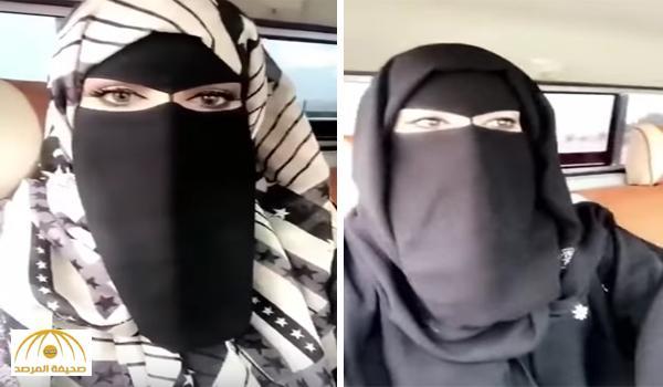 """بالفيديو .. سيدة تقود سيارة """"شاص"""" بمفردها.. وتؤكد: """"سأذهب للصناعية ثم البر"""" !"""