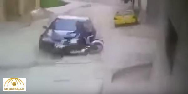 بالفيديو : لص يفقد ساقه لحظة سرقة هاتف بالمغرب