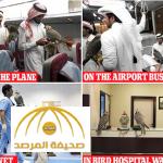 """نعيم ورفاهية ومستشفيات خاصة بأبو ظبي.. طائرة صقور الثري العربي تجذب اهتمام """"الديلي ميل""""!- صور"""