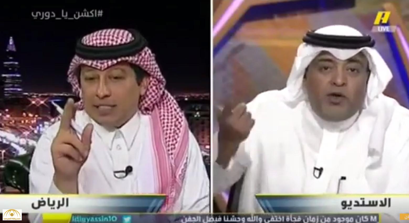 """لمح إلى انتقال """"خميس"""" إلى النصر بعد تعاقده مع الهلال.. """"الجفن"""" قانون الاحتراف """"محامي خلع"""" !"""