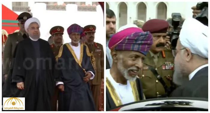فيديو : روحاني يصل سلطنة عمان و السلطان قابوس في مقدمة مستقبليه