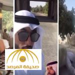 """بالفيديو: طوابير تحمل هدايا الشيخ ذياب بن خليفة آل نهيان لـ""""خطيبته"""""""