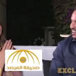 قدم لها خاتم الخطوبة و قبلها أمام المشاهدين .. شاهد: خطوبة مذيعة mbc مباشرة على الهواء