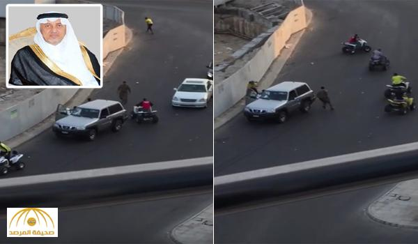 الأمير خالد الفيصل يوجّه بسرعة القبض على المعتدين على رجل الأمن في كورنيش جدة – فيديو