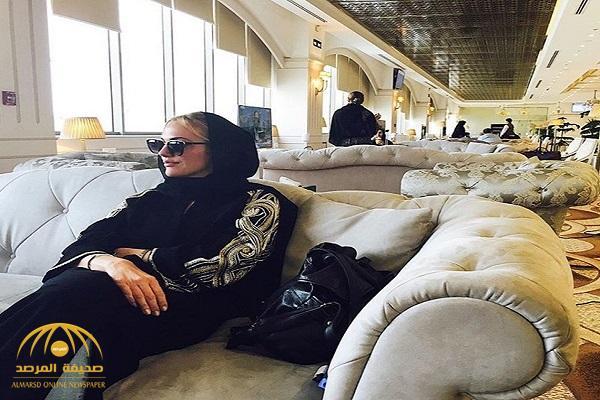"""بالفيديو والصور : """"السلطانة هويام"""" توجه رسالة للمنتخب السعودي وتتمايل على لحن أغنية خليجية"""