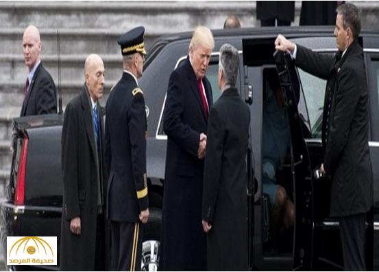 """شاهد.. المراحل الأخيرة لسيارة دونالد ترامب.. سميت بـ""""الوحش"""" وهذه أبرز محتوياتها!"""