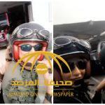 بالفيديو .. لجين عمران ومهيرة عبد العزيز يتجولان في شوارع دبي على متن دراجة نارية