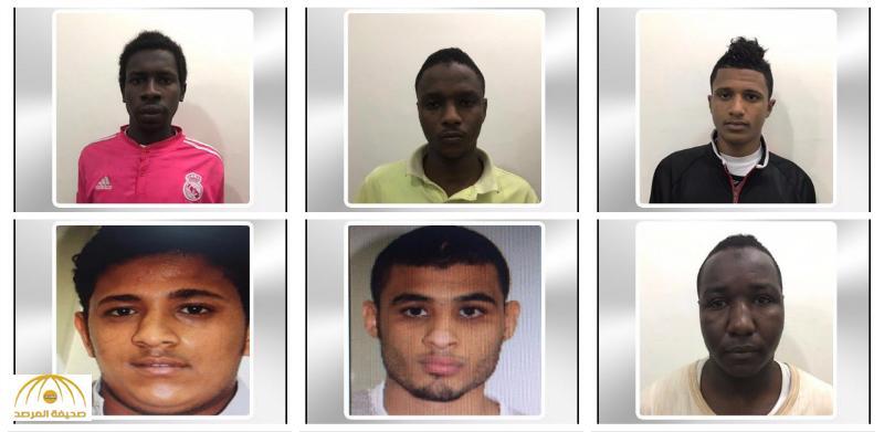شرطة مكة تصدر بيانا وتكشف عن صور و أسماء 7 من قائدي الدراجات المعتدين على رجل الأمن بجدة