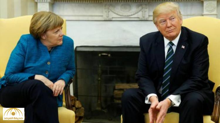 """ترامب يطبق سياسة على الجميع أن يدفع .. ماذا طلب """"الرئيس الأمريكي"""" من المستشارة الالمانية انغيلا ميركل"""