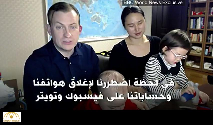 """صاحب أشهر مداخلة تليفزيونية يكشف كواليس اللحظات """"الحرجة"""" التي عاشها بعد دخول أطفاله عليه أثناء البث المباشر ! -فيديو"""