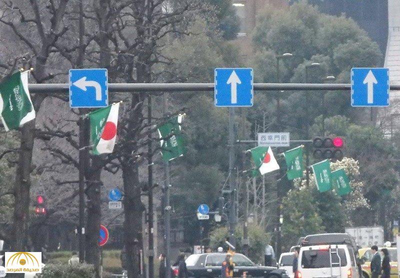 """هكذا استقبل """"اليابانيون"""" خادم الحرمين الشريفين في الشوارع ! –صور"""