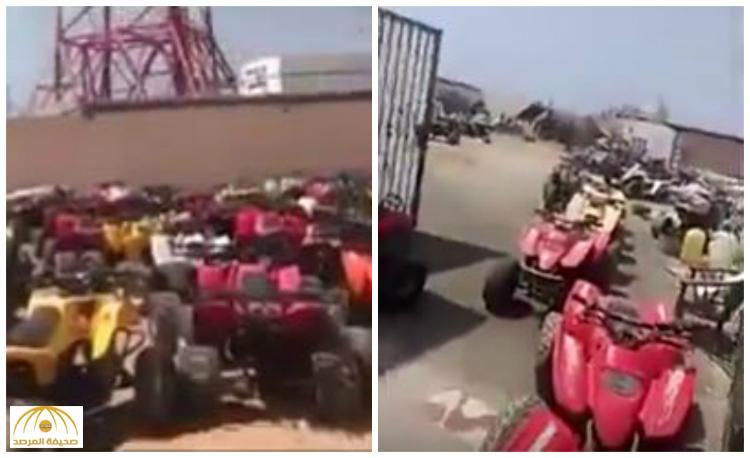 """بعد الحملة الأمنية المكثفة نتيجة الاعتداء على رجل الأمن .. شاهد عدد """"الدبابات"""" المضبوطة بمدينة جدة"""