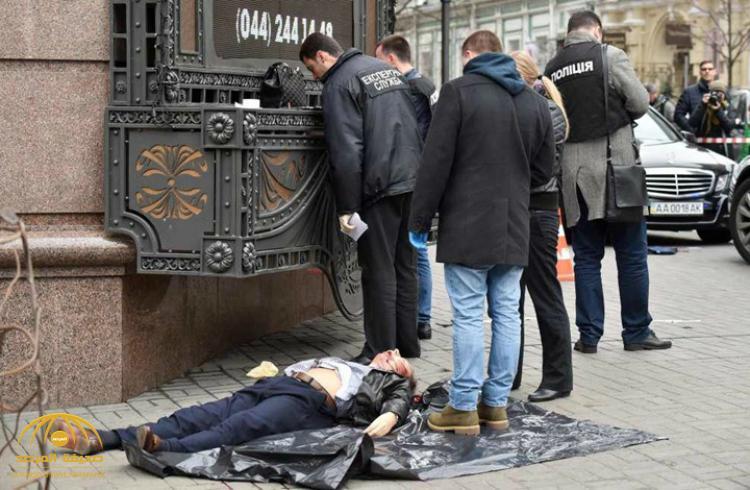 شاهد لحظة اغتيال نائب روسي معارض لبوتين بأوكرانيا