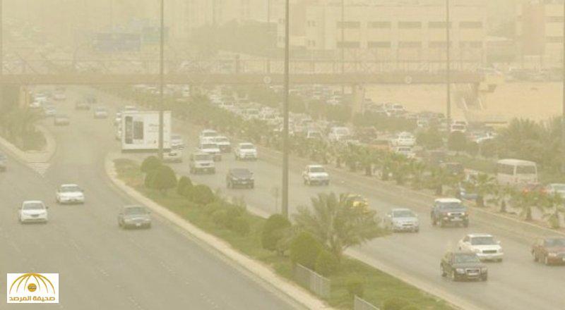 رياح مثيرة للأتربة والغبار على 9 مناطق بالمملكة.. وتوقعات بهطول أمطار رعدية!