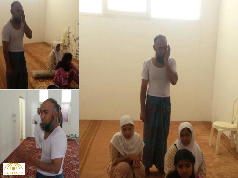 """بالفيديو:القبض على """"مؤذن """"بنجالي يستدرج النساء ويمارس الفاحشة بهن داخل مسجد بعفيف"""