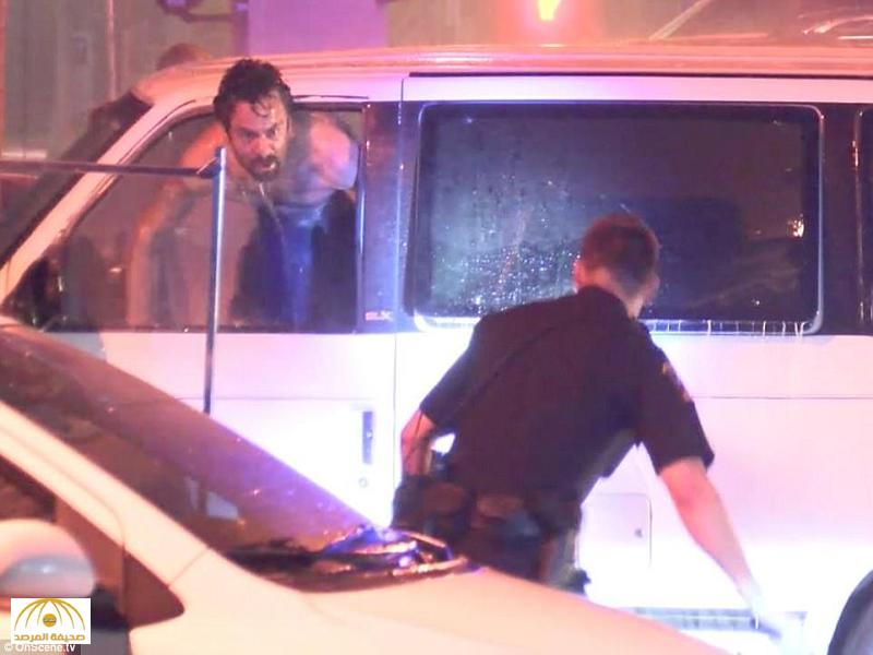 """""""أصابته لحظة جنون فظنوا أنه سيُفجر  نفسه"""".. """"فيديو"""" يكشف لحظات درامية  لرجل أمريكي حاول إشعال النار في سيارته"""