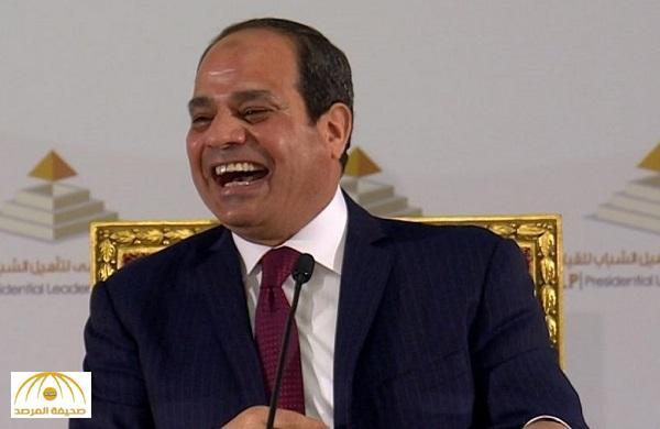 """شاهد ردة فعل السيسي على سؤال : """"ما هو تقييمك لما يسمى الربيع العربي"""""""
