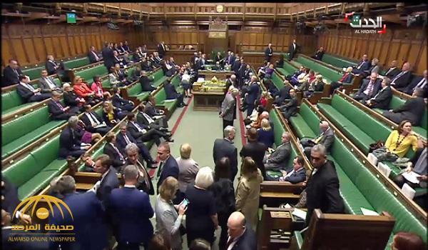 شاهد .. فيديو من داخل البرلمان البريطاني لحظة الهجوم