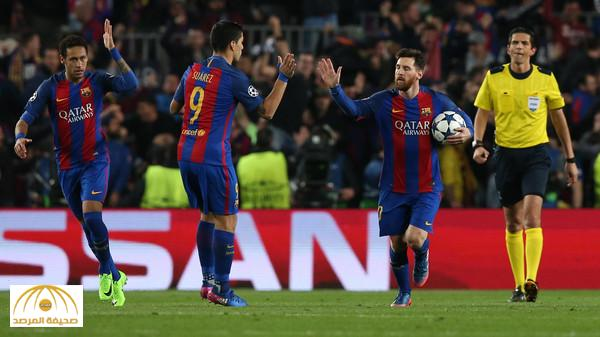 """في مباراة تاريخية ..بالفيديو:  برشلونة يسحق باريس سان جرمان بسداسية .. ويصنع """"المعجزة"""""""