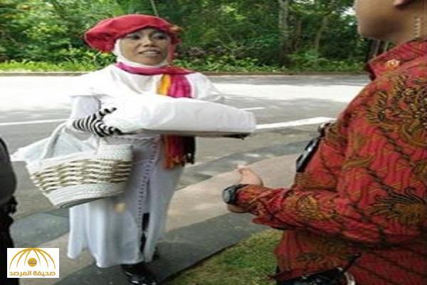 """""""أثارت الشكوك من حولها"""".. تفاصيل القبض على سيدة """"إندونيسية"""" حاولت مقابلة الملك سلمان في جزيرة بالي!"""