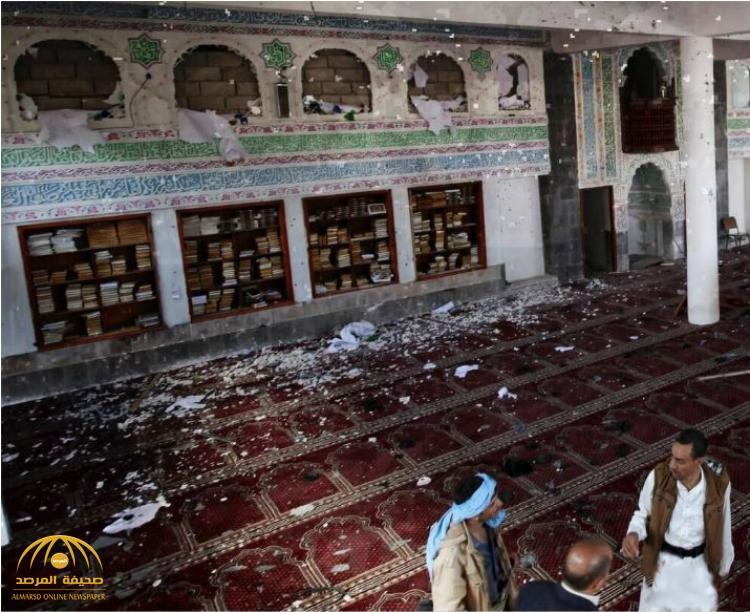 """""""قوم لا عهد لهم ولا ميثاق"""" .. جرائم الحوثيين فاقت الخيال .. هذا إجمالي المساجد التي هدموها في اليمن"""