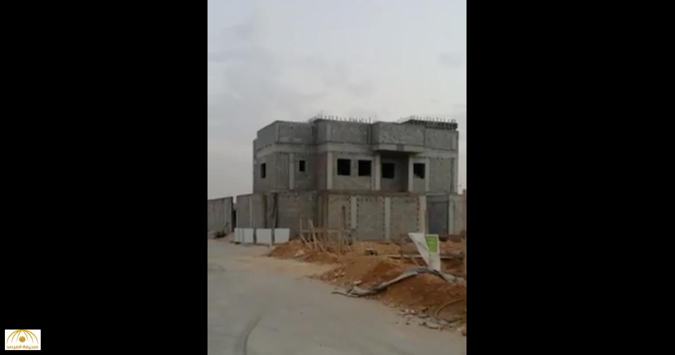 بالفيديو : شاهد ..منزل وزير سعودي تحت الإنشاء يثير دهشة مصوره !