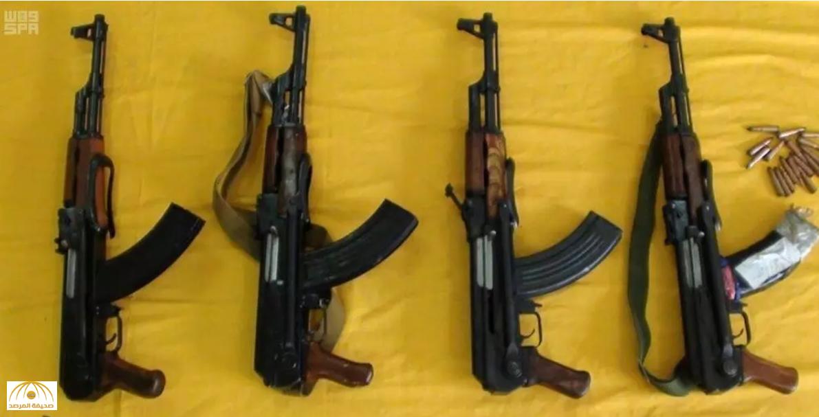 الداخلية تعلن عن إحباط عملية زرع ألغام  وتهريب أسلحة ومخدرات والقبض على المتورطين فيها-صور