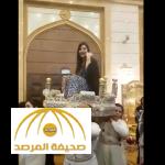 بالفيديو:  زفة لجين عمران على الطريقة المغربية في جدة..شاهد ردة فعلها !