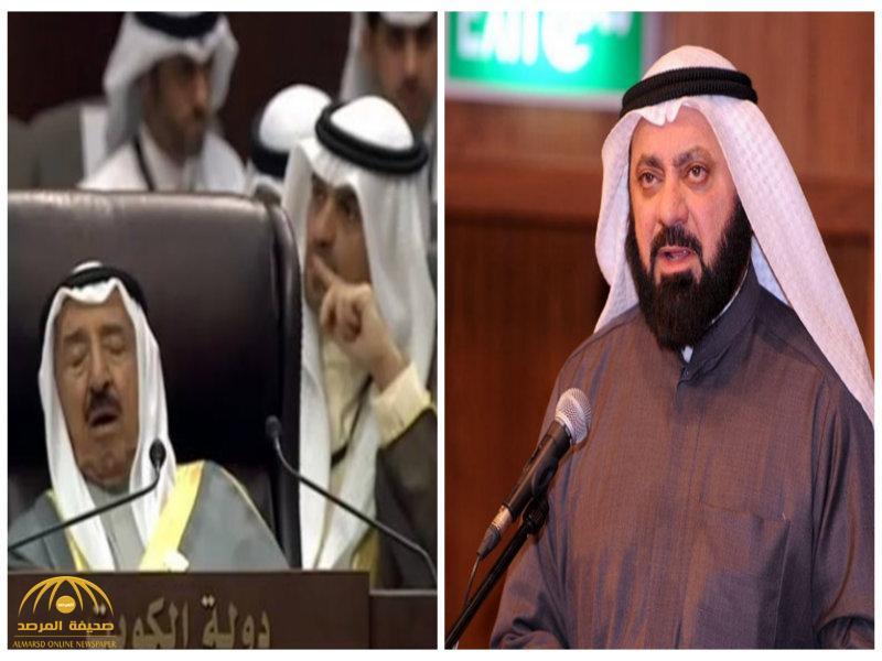 وليد الطبطبائي يعلق على مقطع فيديو أظهر لحظة نوم أمير الكويت داخل القمة العربية-فيديو