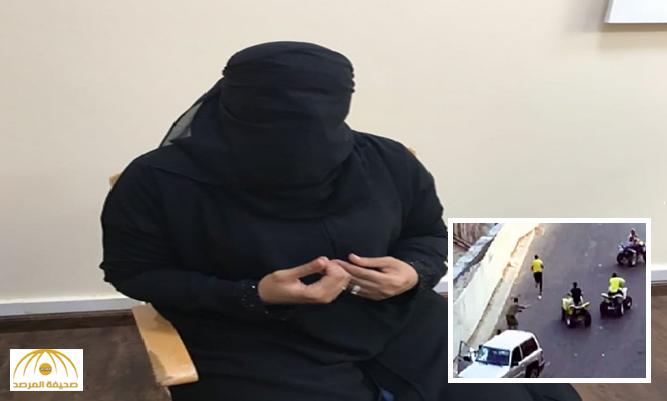 والدة المعتدي بالدباب على رجل المرور بجدة: ابني  ضحية لرفاق السوء.. وكرامة رجل الأمن فوق رأسي ورأس عشيرتي!