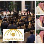 بالصور : الملك سلمان يستقبل مجموعة من السعوديين المبتعثين في الصين ..ويأمر بإلحاقهم على حسابهم بالبعثة