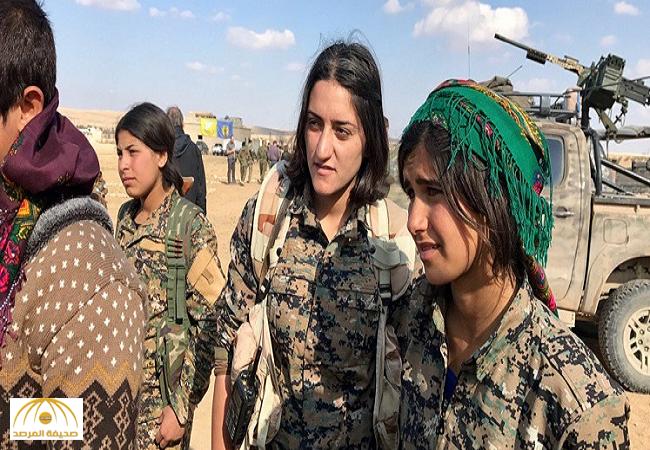 """الجيش الأمريكي ينشر صور """"مقاتلات"""" صغيرات السن في سوريا"""