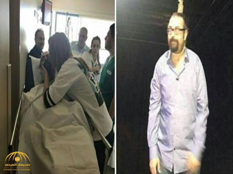 """""""تمثيلية تتحول لحقيقة"""".. مذيع لبناني يشنق نفسه على الهواء مباشرة ! – صور"""