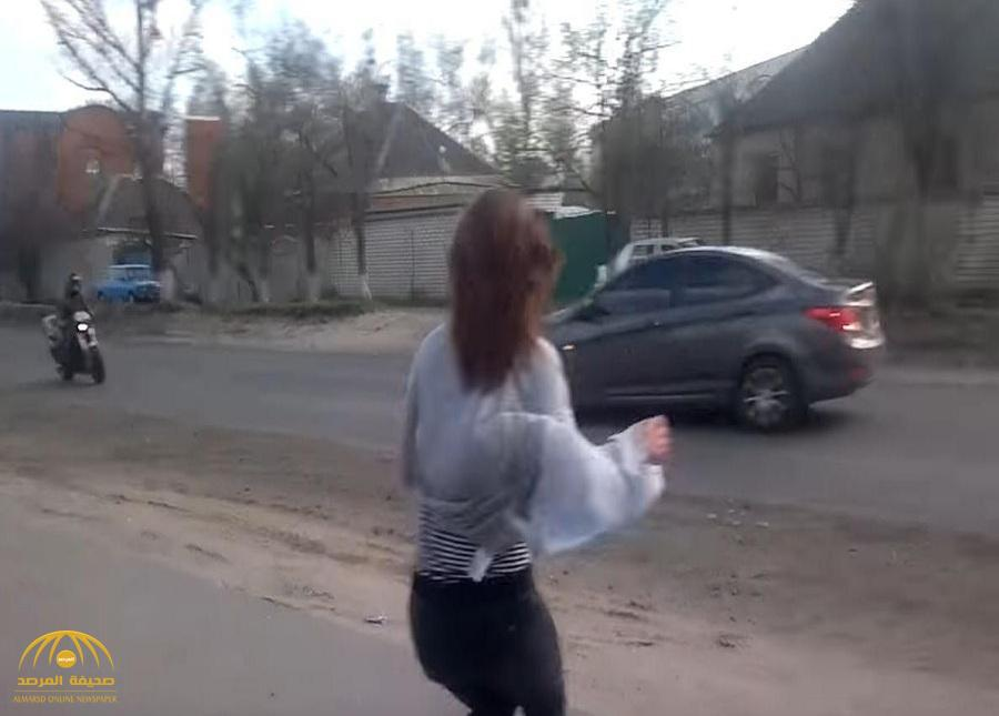بالفيديو: رقصة مثيرة  لفتاة أوكرانية تؤدي إلى حادث قاتل