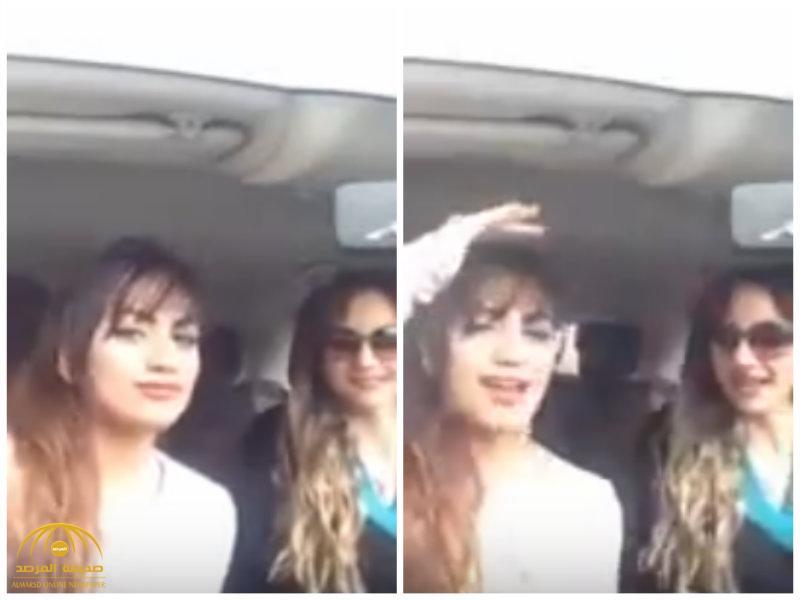 """كيف ينبض فيك العرق السعودي وأنت خارج المملكة؟ .. شاهد..فتاتان تُشعلان التواصل بـ """"رقصة مثيرة"""""""