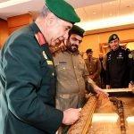 بالصور : الحرس الأميري القطري في زيارة للحرس الملكي