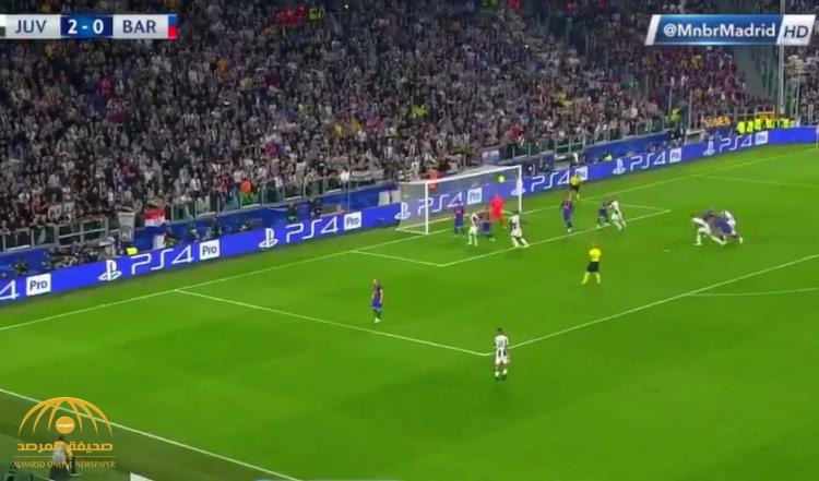 بالفيديو: يوفنتوس يقسو على برشلونة بثلاثية في دوري أبطال أوروبا