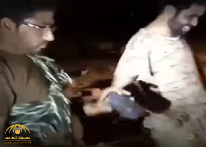 """تركوها وفروا.. شاهد: القوات السعودية تسيطر على موقع للعدو بـ """"ميدي"""""""